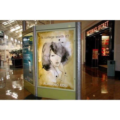 Clear Backlit Adhesive Vinyl